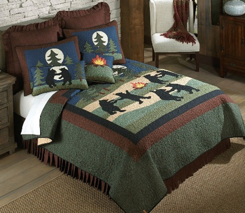 Bear Dance Bedding