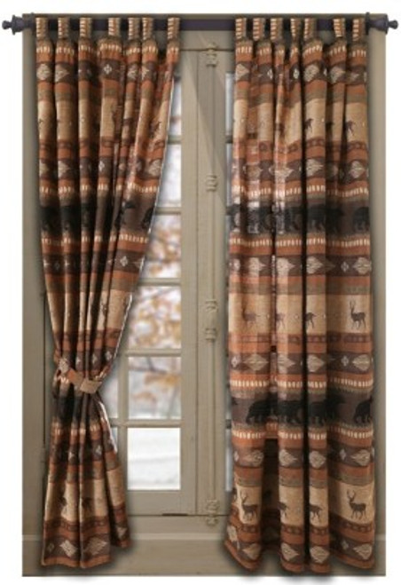 Autumn Trails Drapes and Valance
