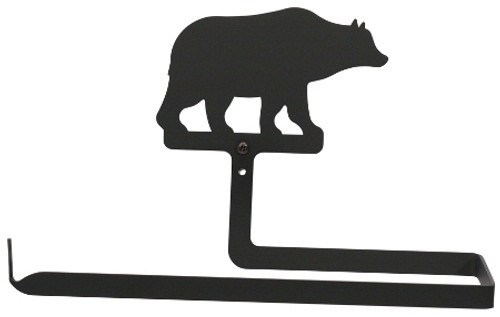 Bear paper towel holder