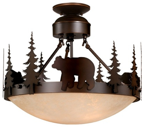 Bozeman Dual Mount Ceiling Light