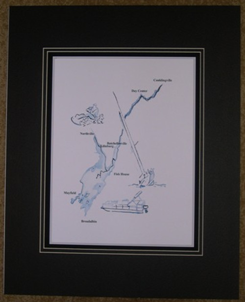 Great Sacandaga Lake Print