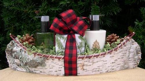 Birch Bark Canoe Frasier Fir Gift Set