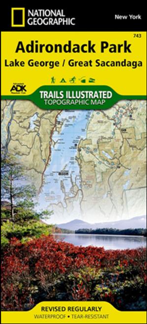 Lake George/Great Sacandaga Map
