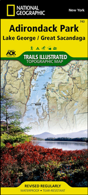 Lake George/Great Sacandaga Map