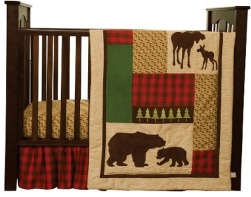 Northwoods 3 piece crib set