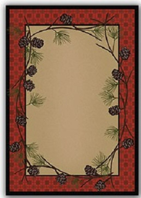 Delicate Pines Rug - options available
