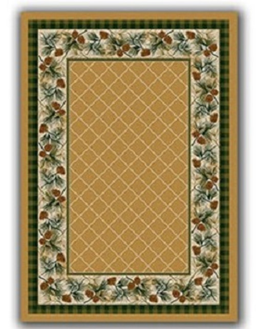 Evergreen Maize Rug - options available