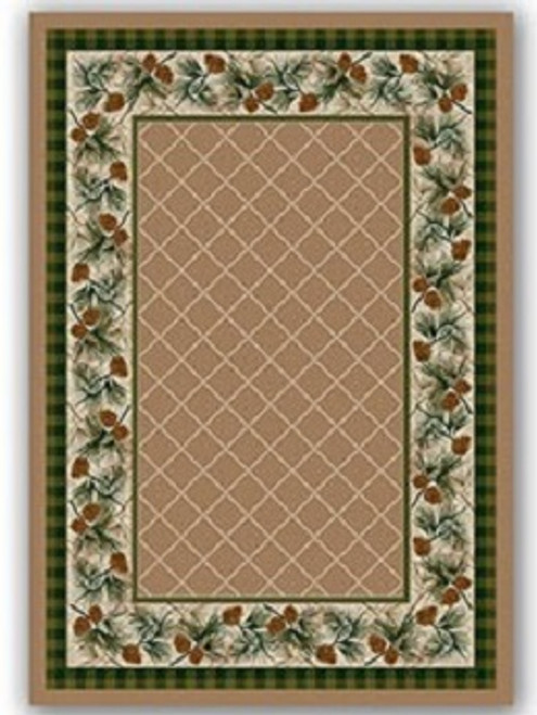Evergreen Sandstone Rug - options available