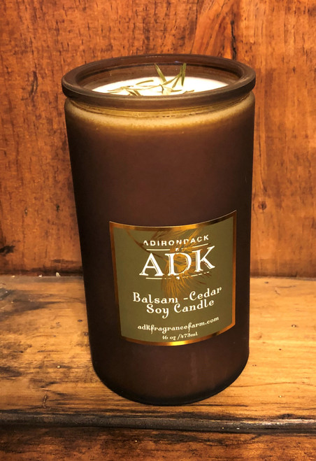 ADK Balsam Cedar Candle, large, 16 oz.