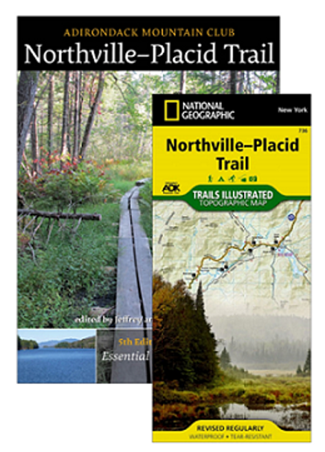 ADK Mt. Club Northville-Placid Trail Map and Guide