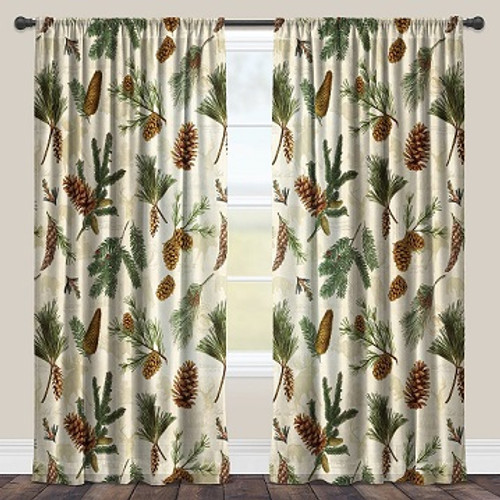 Pinecone sheer window panels - SALE