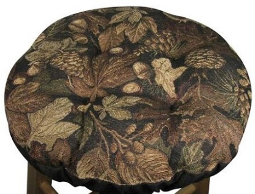 Woodlands Forest Bar Stool Cover
