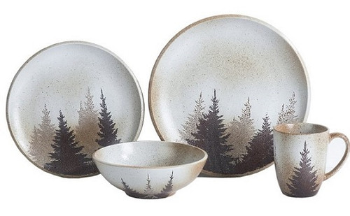 Clearwater Pines Dinnerware set