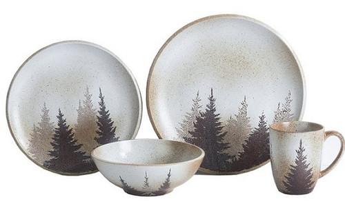 Clearwater Pines Dinnerware set