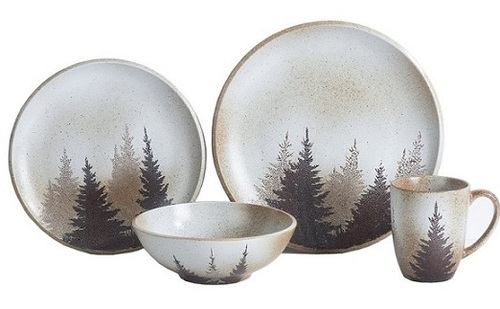 Clearwater Pines Dinnerware set - OUT OF STOCK