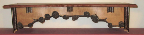 Rustic Handcrafted Shelf