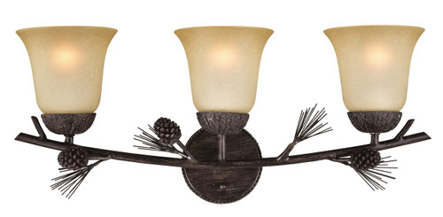 Sierra Triple Light Fixture