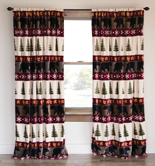 "Tall Pines 84"" Curtains  ON SALE!"