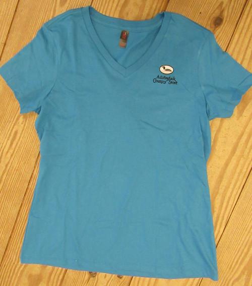 Adirondack Country Store logo T-shirt blue