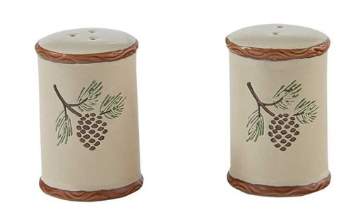 Pinecroft Salt and Pepper Shakers