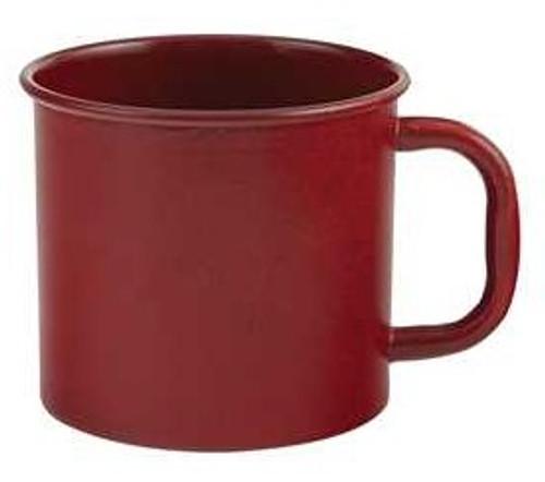 Rustic Red Enamelware Mug - SALE!