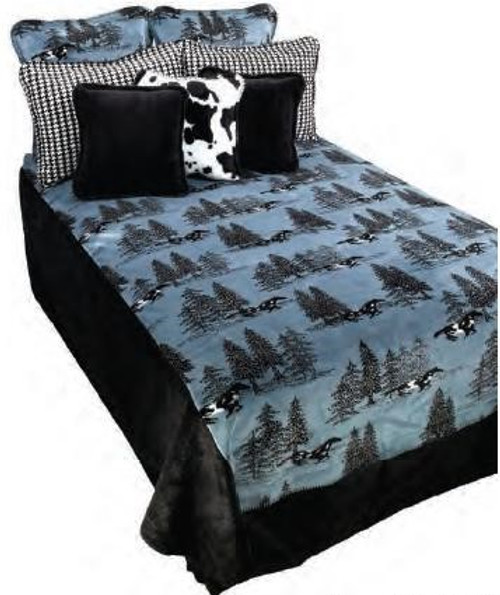 Horse Flight Denali Bedding and Throws - options available