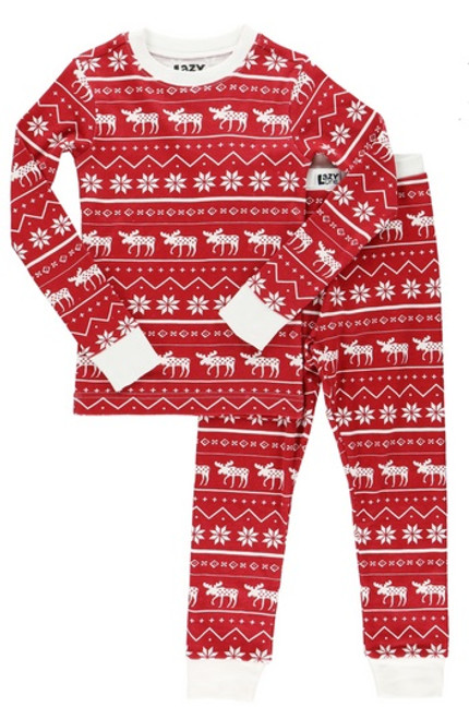 Nordic Moose Kids PJs
