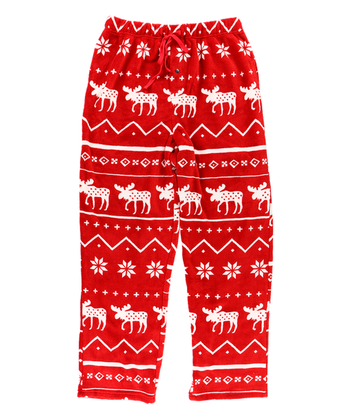 Nordic Moose Men's Fleece PJ Pants