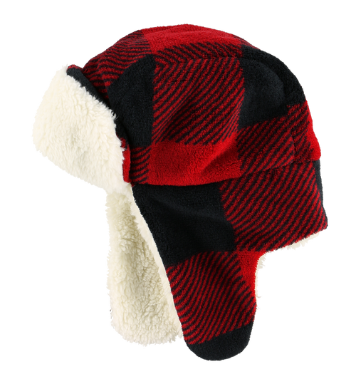 Red Bomber Cap  (Adult)