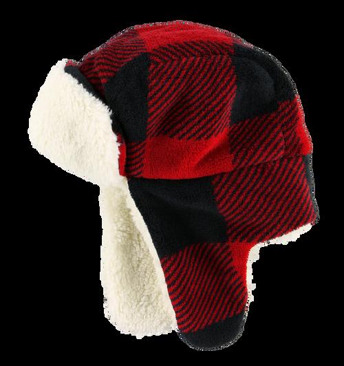 Red Bomber Cap  (Adult)