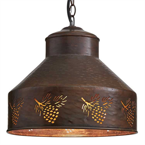 Adirondack Pinecone Pendant Lamp