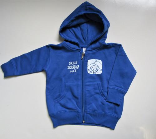 Infants Blue Sacandaga Hoodie