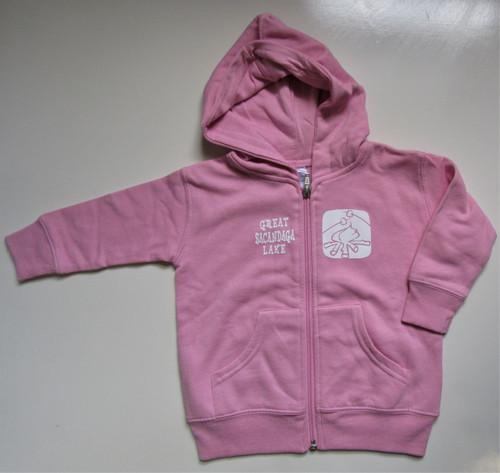 Infants Pink Sacandaga Hoodie