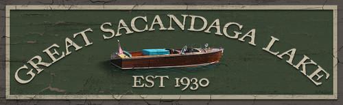 Great Sacandaga Lake Sign
