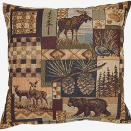Northwoods Tapestry Pillow