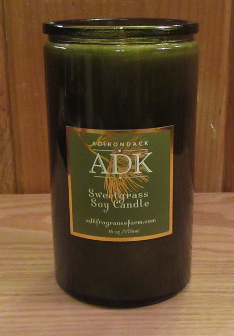 ADK Sweetgrass Soy Candle 16 oz