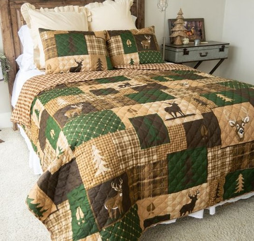 Green Forest Bedding