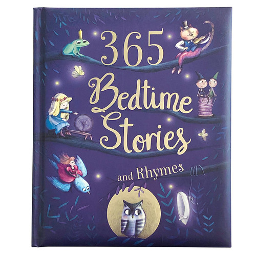 Snuggle up with your favorite nursery rhymes and drift into the magical worlds of all your most treasured fairy-tale characters. Find new stories and adventures to fill your imagination every night before bedtime with 365 Bedtime Stories and Rhymes. Sweet Dreams! Hardcover, 381 pages