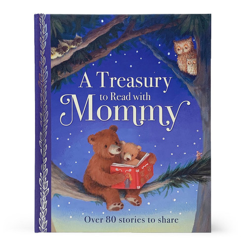 A Treasury to Read with Mommy is a beautifully illustrated treasury with over 80 stories to share. From traditional favorites like Goldilocks and the Three Bears and Jack and the Beanstalk to new tales, this treasury is perfect for reading together or for children to read to themselves. Hardcover, 192 pages.