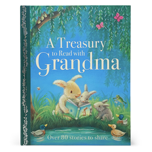 A Treasury to Read with Grandma is a beautifully illustrated treasury with over 80 stories to share. From traditional favorites like The Three Billy Goats Gruff and the Ugly Duckling to new tales, this treasury is perfect for reading together or for children to read to themselves. Hardcover, 192 pages.