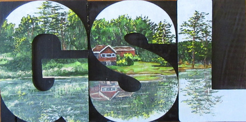 Woodblock Art Handmade - GSL