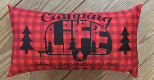 Camping Life Pillow