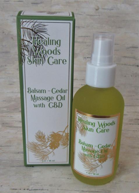 ADK Healing Woods Massage Oil