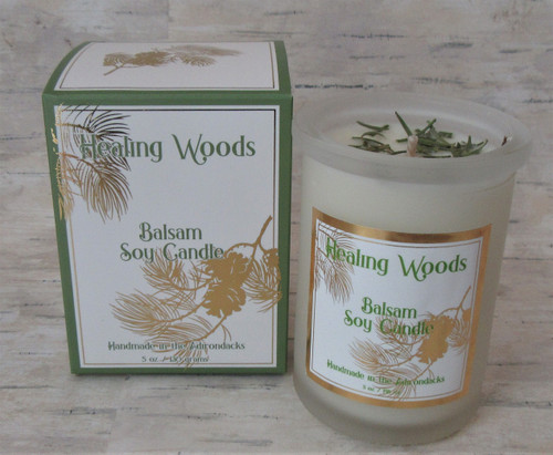 ADK Healing Woods Balsam Soy Candle