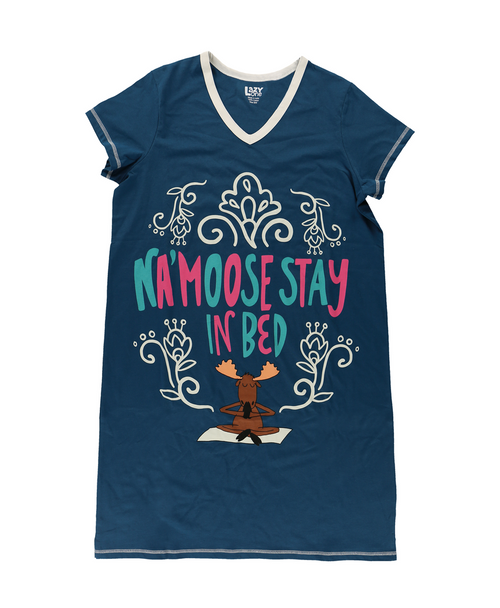 Na'moose Stay In Bed Nightshirt