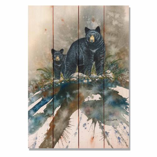 Pine Wall Art - Bears