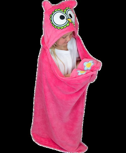Owl Critter Kids Blanket