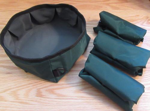 TOGO Folding Dog Water Bowl