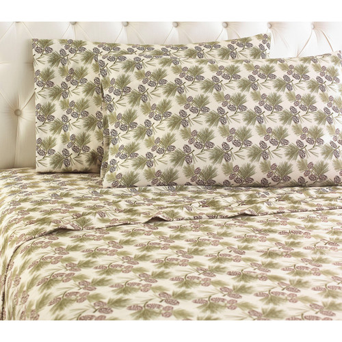 Pinecone Microflannel Sheet Sets