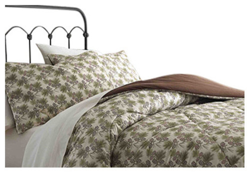 Pinecone Microflannel Comforter Sets - options available